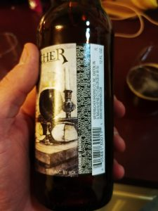 Weyerbacher Quad Label Stats