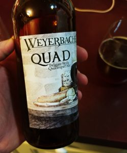 Weyerbacher Quad Label Left