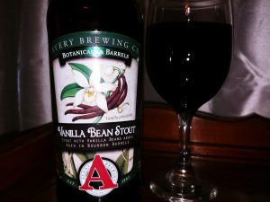 Vanilla Bean Stout Avery Brewing Co, label front