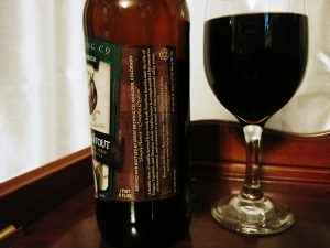 Vanilla Bean Stout Avery Brewing Co, label right