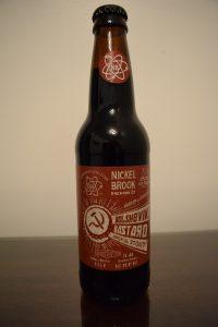 Bolshevik Bastard Imperial Stout bottle front