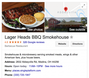 Lager Heads BBQ Smokehouse