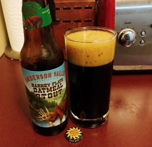 Barney Flats Oatmeal Stout, Anderson Valley Brewing