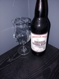 Wild Turkey Bourbon Barrel Stout, Anderson Valley