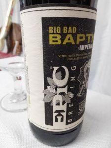 Big Bad Baptist, Epic Brewing