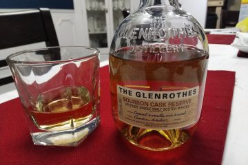The Glenrothes Bourbon Cask Reserve , Speyside single malt scotch whisky