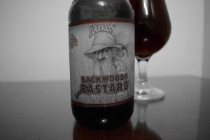 Backwoods Bastard Label Red Only