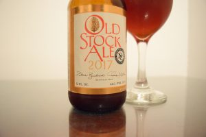 Old Stock Ale 2017 Label