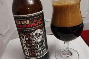 Big Bad Baptist 2017 Rare Release, Epic Brewing