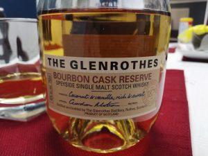 The Glenrothes Bourbon Cask Reserve , Speyside single malt scotch whisky
